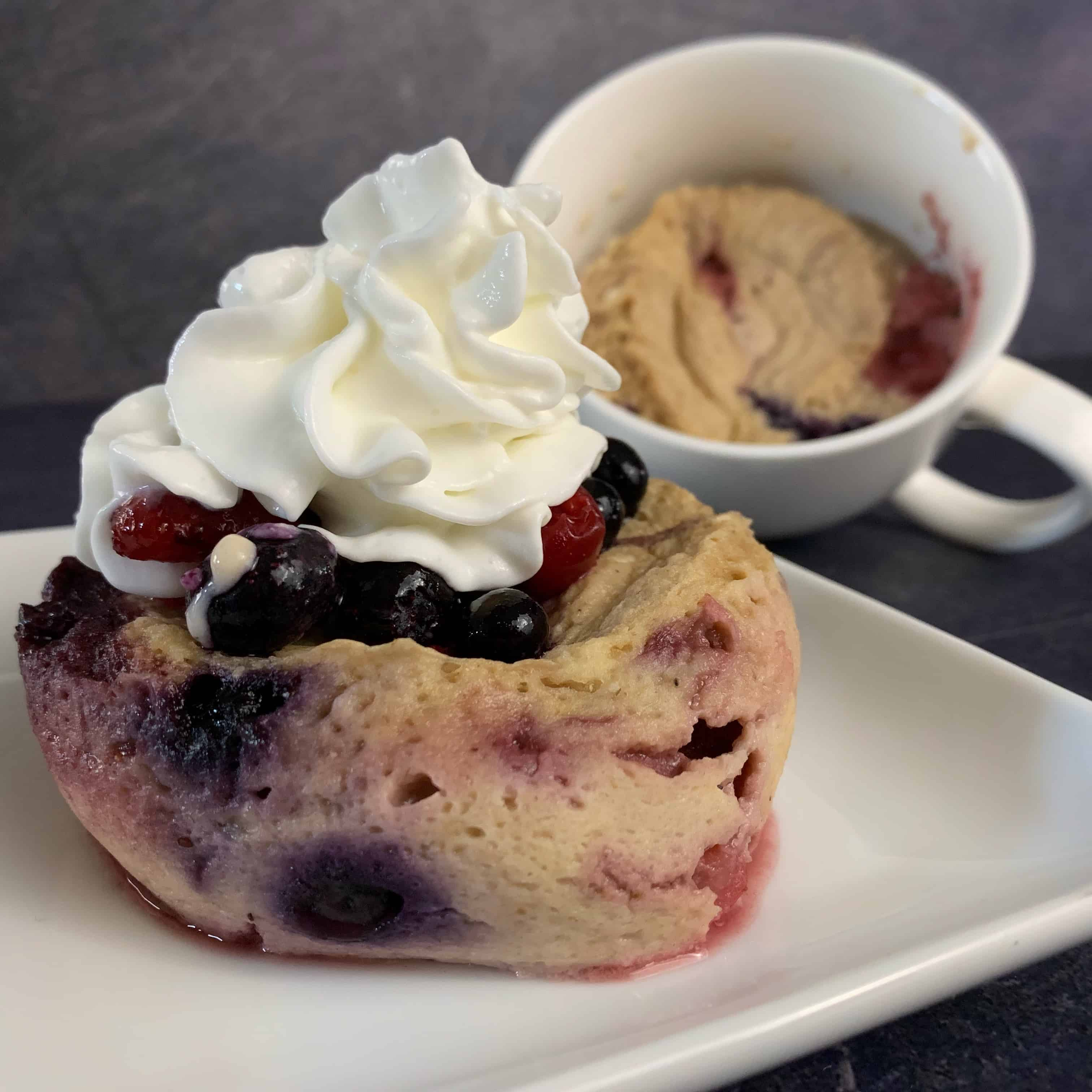 High Protein Cherry Berry Mug Pancake Mugs For Muscles